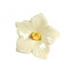 Keramický květ