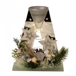 Vánoční dekorace - svícen