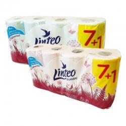 Toaletní papír - 2 vrstvý - 8ks - růžový