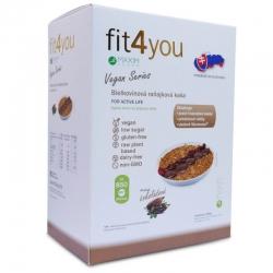 Bílkovinná snídaňová kaše 10 x 60 g - vegan