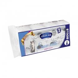 Toaletní papír - 2 vrstvý - 8ks - snow white